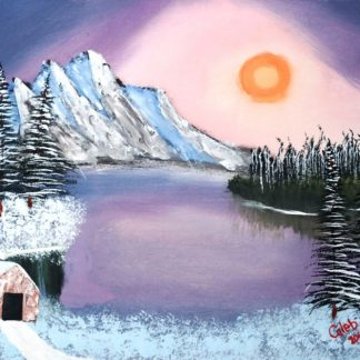 Northern_Cabin_By_Mountain